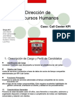 Caso CallCenter KPI