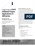 Migrating Bde Applications to Dbexpress