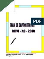 AÑO DE LA CONSOLIDACIÓN ECONÓMICA Y SOCIAL DEL PERU
