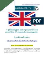 Entretien en anglais (Embauche, motivation, concours)