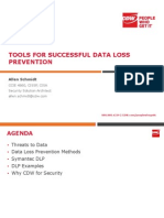 Tools for Successful Data Loss Prevention Final