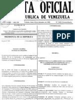 Normas para clasificación de efluentes y vertidos líquidos. Nº 5021