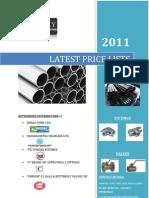 Pricelistsalitems(Steel Pipes & Fittings)