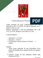 Sobre a Confraternização Natalina 2009