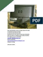 Manual Para Abrir Monitor Hp Vp15