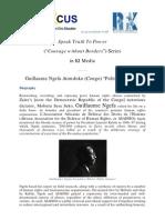 "Speak Truth to Power Series in KI-Media - Guillaume Ngefa Atondoko (Congo) ""Political Rights"""