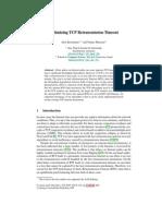 TCP Optimization