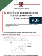 7. Contexto de Las Negociaciones Internacionales