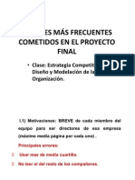 Errores Del Proyecto Final v3.0