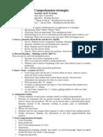 Comprehension Strategies x1