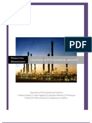 Overview of Petrochemical Industry | Oil Refinery | Petroleum