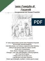 La S. Famiglia di Nazareth - Preghiere e Insegnamenti dei Sommi Pontefici - Stampa 4,1 - 2,3