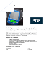 GSM Weighing Scale