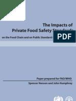2009 - FAO - Impacts Food