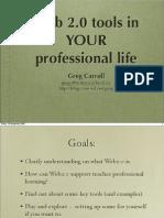 Web2 for Prof Lives