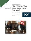 The US Debt Crisis