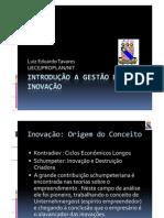 Introducao a Gestao Da Inovacao Luiz Eduardo