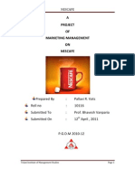 Project of Marketing Management on Nescafe