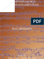 A Composer's World - Horizons and Limitations