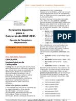 Apostila Concurso IBGE 2011 - Download Grátis - Agente de Pesquisas e Mapeamento