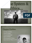 Value System & Ethics