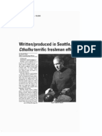 CTHULU - Seattle Gay News - Review - 0912