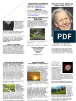 Fall 2011 Brochure - The Wisdom of Thomas Berry