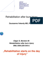 Rehabilitation After Burn Injury-notes