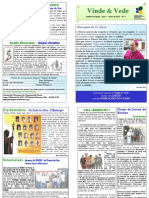 """Publicação Diocesana - """"Vinde e Vede"""" - N.º 5"""