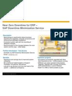 Near Zero Downtime for ERP - SAP Downtime Minimization Strategy