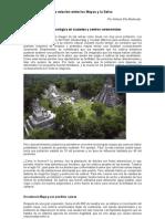 La relación entre los Mayas y la Selva