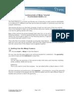 Fundamentals Warp Tutorial