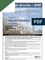 Cargo 03 Escriturario Tostao