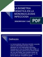 Presentación MONONUCLEOSIS I.