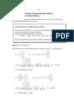 Lineare Algebra, Teil 2