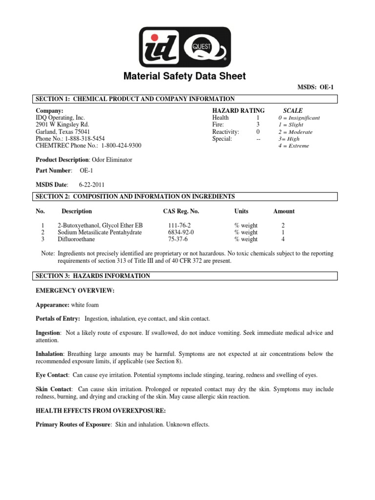 Glycol ethers sara 313 report