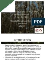 Para Entender La Nueva Ley Forestal y de Fauna Silvestre
