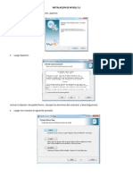 Manual de Instalacion de Mysql
