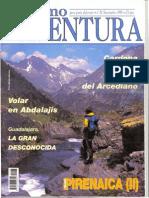 Transpirenaica (II) De Ordesa al Mediterraneo. Sergio Garasa en Turismo & Aventura (Nov-1995)