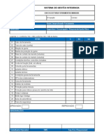 FS-076 - Rev 0 - Check List Para Ferramentas Manuais