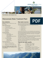 Wainuiomata Water Treatment Plant