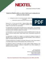 130311 Boletín Nextel IXC único interés BUENO