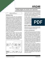 AN246 - Driving the Analog Inputs of a SAR A/D Converter