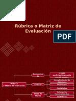 09-Rúbrica o Matriz de Evaluación