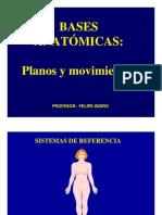 planos y movimientos del cuerpo humano