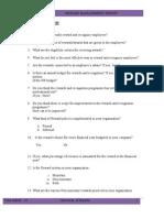 Reward Management Question Are