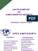Almacenamiento Dispositivos Medicos