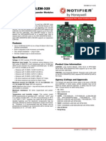 LCM & LEM 320 Control and Expander Modules Data Sheet