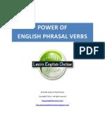 Power of English Phrasal Verbs