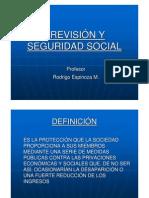 PREVISIÓN Y SEGURIDAD SOCIAL